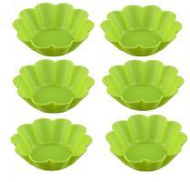 Набор форм для выпечки силикон Mayer&Boch 64 мл 6 шт салатовый