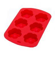 Форма для выпечки силикон Mayer&Boch 65 мл красная
