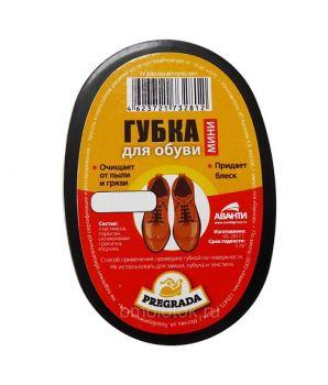 Губка для обуви мини Pregrada черный