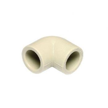 Колено для труб PP-R 90° D25 Ekoplastik