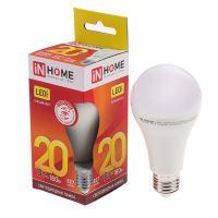 Лампа светодиодная IN HOME LED A60 20Вт 230В Е27 3000К