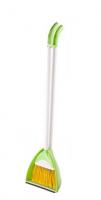 Набор веник с совком пластик Тандем салатовый