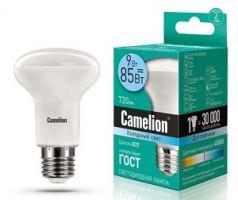 Лампа светодиодная Camelion LED R63 E27 9Вт 220В 4500К