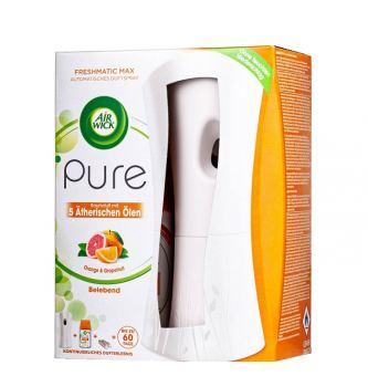 Автоматический освежитель воздуха AIR WICK FreshMatic со сменным баллоном апельсин и грейпфрут 250 мл