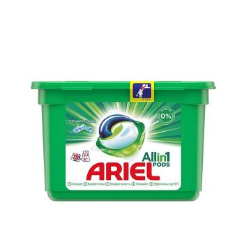 Капсулы для стирки автомат Горный родник Ariel 15 шт