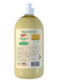 Жидкое мыло хозяйственное Mister dez 1 л