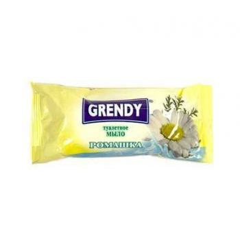 Мыло туалетное глицириновое ромашка Grendy 75 г
