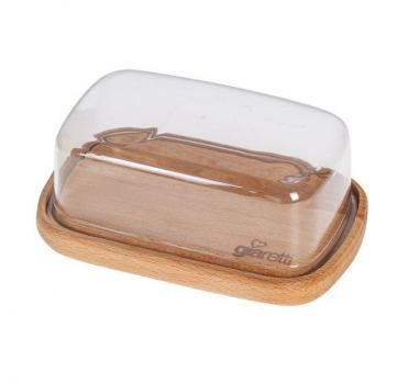 Масленка с крышкой пластик Natura giaretti 180*96*66 мм
