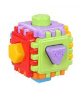 Игрушка логический куб Геометрик Альтернатива