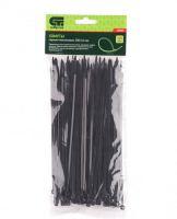 Хомуты черные пластик 200*3,6 мм Сибртех 100 шт
