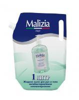 Жидкое мыло для рук и тела антибактериальное Malizia 1 л