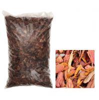 Кора сибирской лиственницы мелкая 1-3 см 60 л