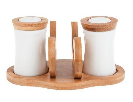 Набор для специи с салфетницей Best Home Porcelain 2630081