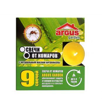 Свеча репеллентная от комаров ARGUS garden 9 шт