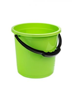 Ведро пластик Elf Plast Волна салатовое 10 л