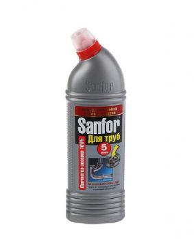 Средство для очистки труб Sanfor, 750 мл