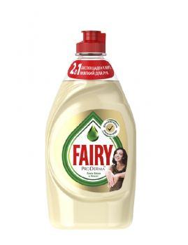 Средство для мытья посуды Fairy ProDerma Алоэ вера и кокос, 650 мл