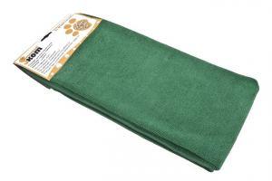 Тряпка для пола микрофибра 70*80 см Рыжий Кот, зеленая
