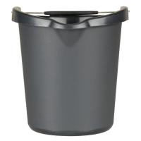 Ведро универсальное пластик Vileda серое 12 л